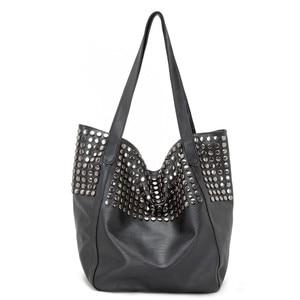 2019 Luxury Handbags Women Bags Designer Large Capacity Tote Bags Female Leather Shoulder Bag Rivet Sac A Main Vintage Hand Bag