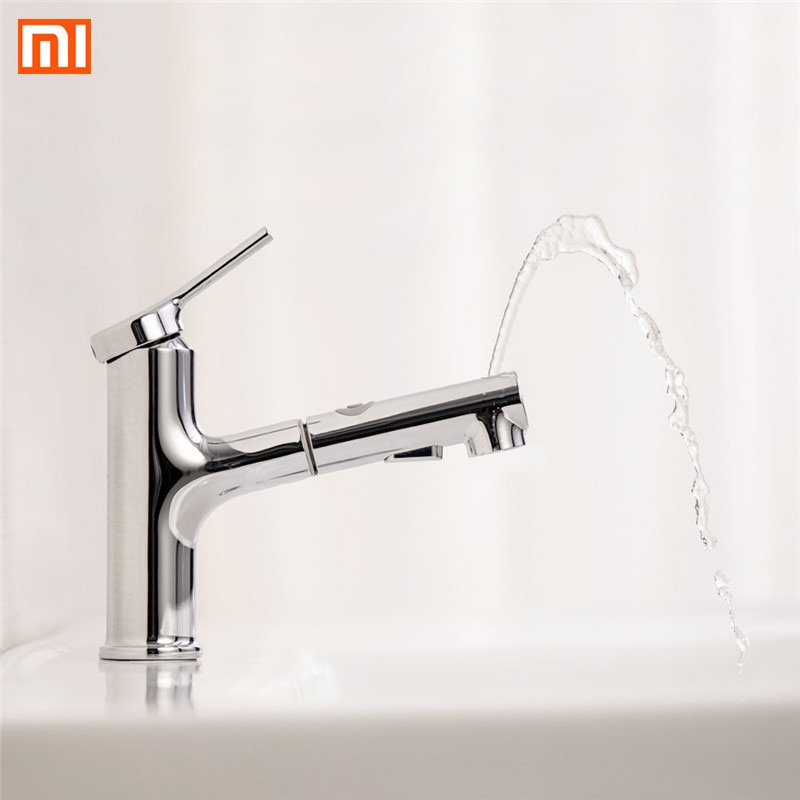 Xiaomi Dabai baño grifo lavabo W/sacar enjuagadora del rociador del gárgaras cepillado 2 Modo Mezclador grifo frío y caliente bañera grifo