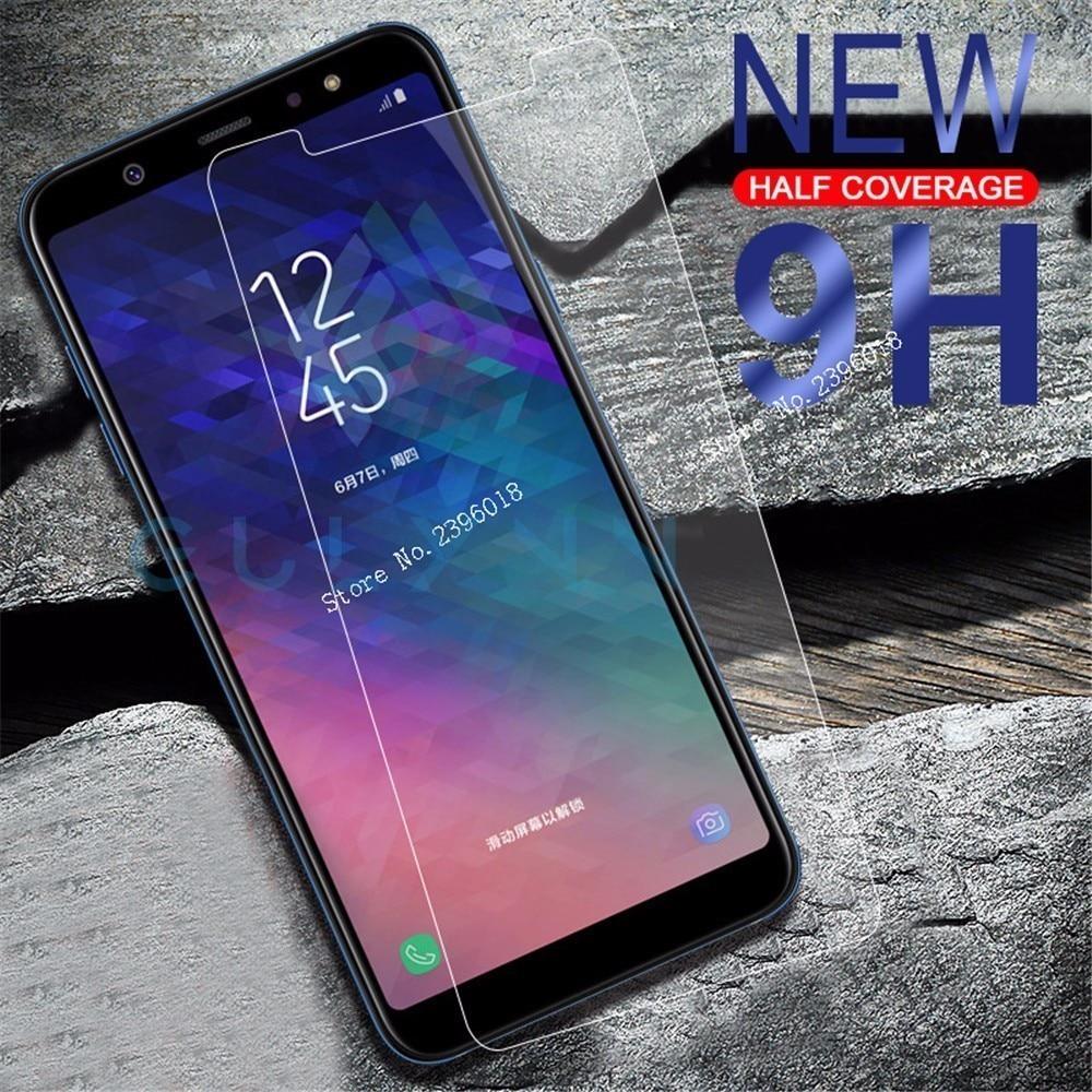 Glass For Samsung J6 Plus 2018 J4 A6 A8 2018 A10 A20 A30 A40 A50 Case For Galaxy J4Plus J6Plus Scree