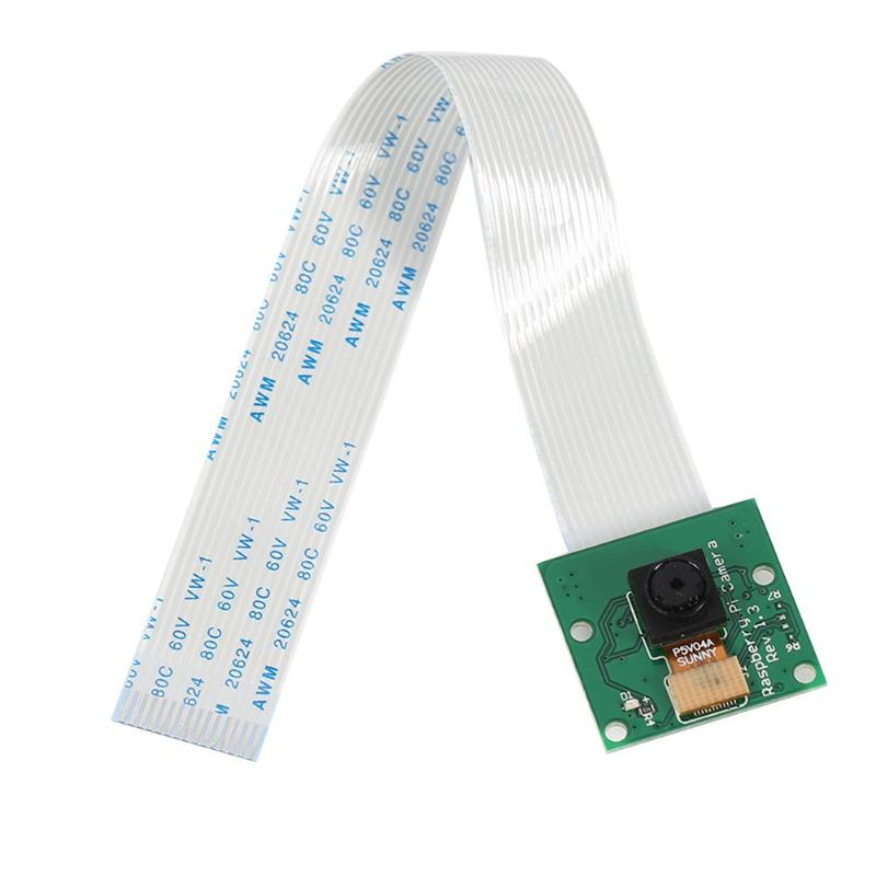 Alloyseed 5MP Camera CSI Webcam Module 1080P+15cm Cable for Raspberry Pi 3 Model B+/3