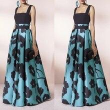 Frauen Party Abend Boho Prom Ballkleid Formale Abend Party Langarm Maxi Kleid