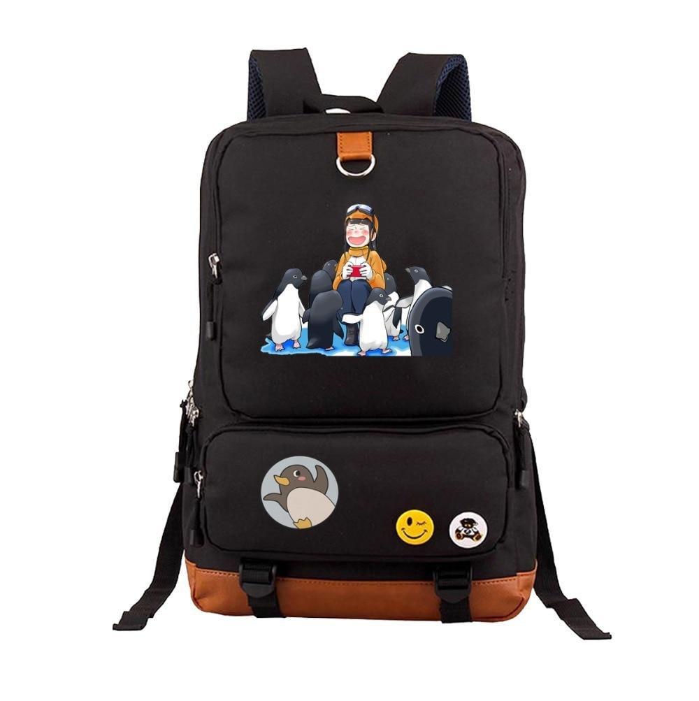 Mochila de anime un lugar más allá del universo, mochilas escolares para adolescentes, bolsos de hombro, mochilas Unisex para ordenador portátil, mochila de viaje