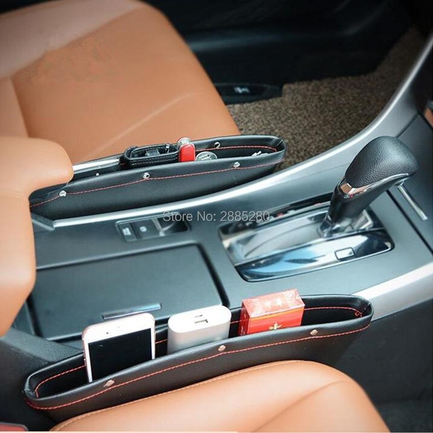 Alta calidad nueva oferta de coche de cuero de almacenamiento de espacio de asiento para Renault Megane 2 3 Duster Logan Clio 4 3 Laguna 2 Sandero escénica 2 Captur