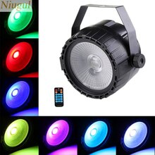Wireless Remote Control 30W RGB+UV COB LED Stage Light Par Light Stage Lighting Lamp DJ DMX512  Lights For Party Bar Decoration