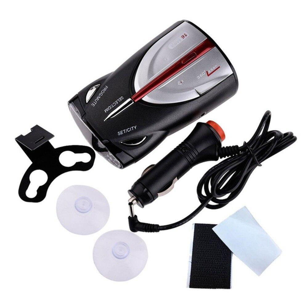 12В 16band Cobra Xrs 9880 антирадар автомобильный детектор 360 градусов светодиодный дисплей полицейский Спидометр голосовое оповещение