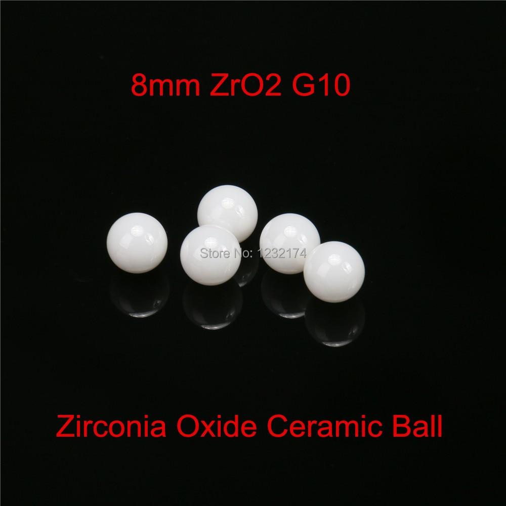 8 مللي متر زركونيا السيراميك كرات G10 120 قطعة