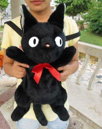 """Nuevo servicio de entrega de Kiki Jiji gato suave felpa 20 """", bolsa de gatito"""