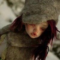 new arrival doll bjd dim laia 14 doll bjd for girl oueneifs doll in mind fl half sleeping or open eyes head