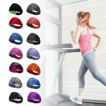 Sport Sweat bandeau sport chemise équitation Yoga bandeau élastique ceinture sueur sport unisexe sécurité Turban chapeaux VTT B