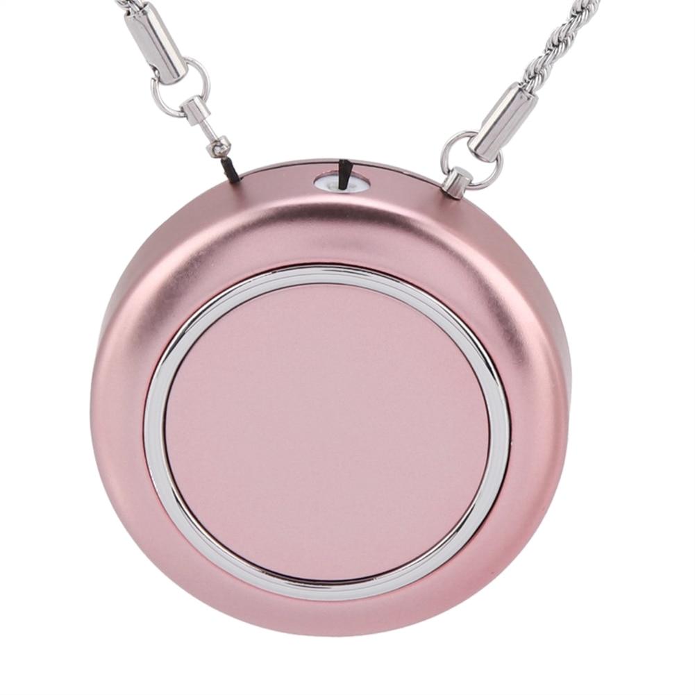 Очиститель воздуха USB персональное носимое ожерелье негативный ионизатор освежитель/генератор отрицательных ионов/Устранение запаха/удаление дыма
