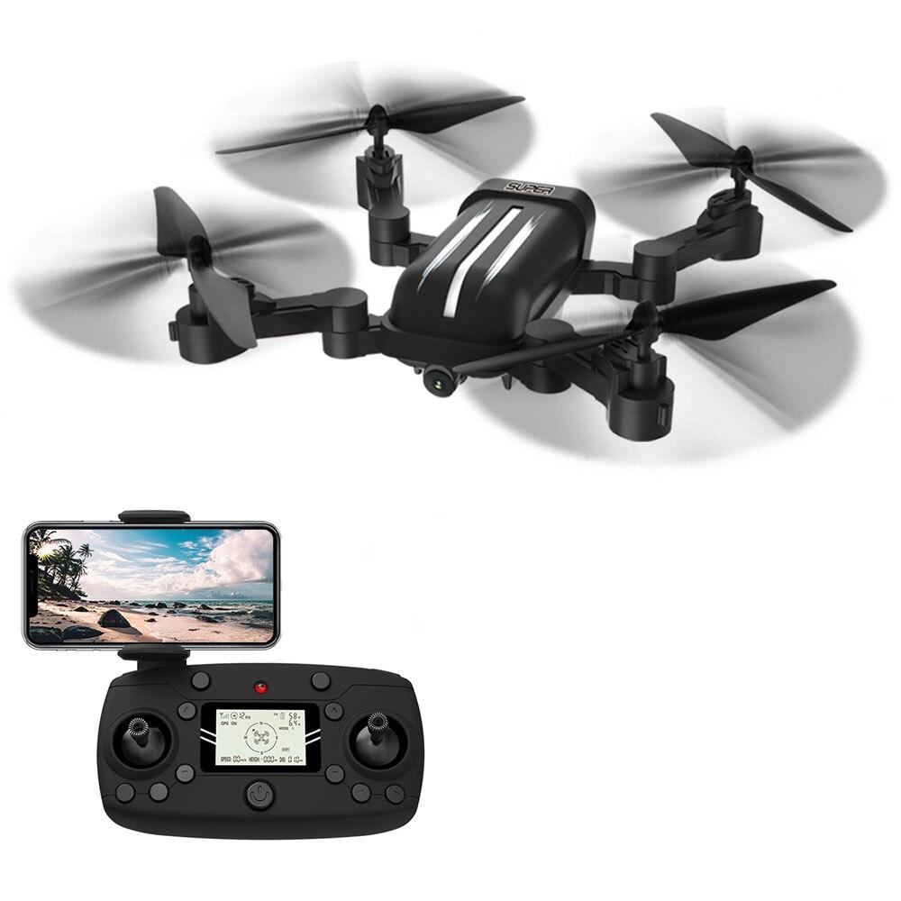BAYANGTOYS remoto ControHelicopters X30 GPS 5G WiFi 1080P FPV con 8MP HD Cámara Me sigue Drone plegable RC Quadcopter RTF