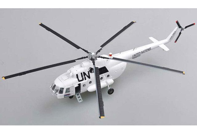 EASY MODEL 37046 1/72 ООН Mi-17 самолета хип-H вертолет No.70913 самолет модель TH07306-SMT2