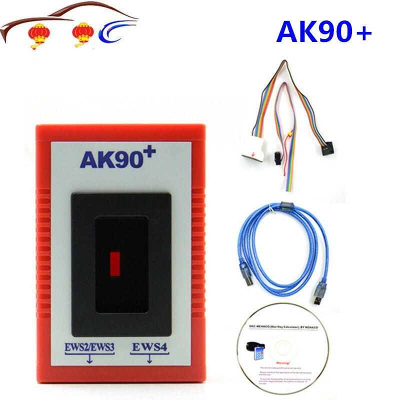 AK90 para BMW AK90 + AK90 programador clave V3.19 para todos los BMW EWS AK 90 fabricante de llaves automáticas AK-90