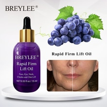 BREYLEE Rapid Firming Lifting Face Essence Oil Massage Anti Wrinkle Anti-aging Powerful V Shape Facial Moisturizing Skin Care