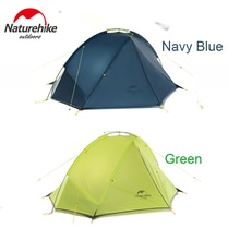 Naturerandonnée 1-2 personnes 20D Nylon Taga extérieur imperméable ultraléger Camping tente pour une chambre un homme seulement 1kg deux homme 1.2kg