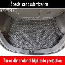 Alfombrillas para maletero de coche personalizadas para Hyundai ix25 ix35 Elantra SantaFe Sonata Solaris tufson verna carstyling alfombra liner