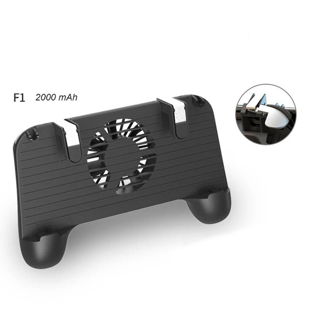 Para PUBG L1R1 Game Shooter, Mando de juegos para teléfono móvil, Joystick, soporte de agarre portátil con ventilador de disipación de calor silencioso r15