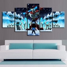 5 Stuk Cartoon Hd Muur Foto Undertale Game Poster Canvas Art Home Decor