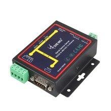 Промышленная серия Modbus RS232 RS485 RS422 в Ethernet конвертер устройства сервера TCP/RTU/UDP RJ45 в RS232 + RS485 разъем