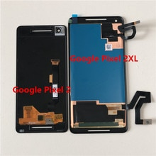Оригинальный ЖК экран Supor Amoled M & Sen 5,0 дюйма для Google Pixel 2 + дигитайзер сенсорной панели 6,0 дюйма для Google Pixel 2 XL 2XL