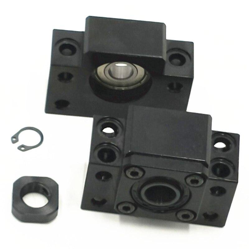 BK10 BF10 BK12 BF12 BK15 BF15 BK20 BF20 para SFU1204 SFU1605 SFU2005 soporte de husillo de bolas para CNC
