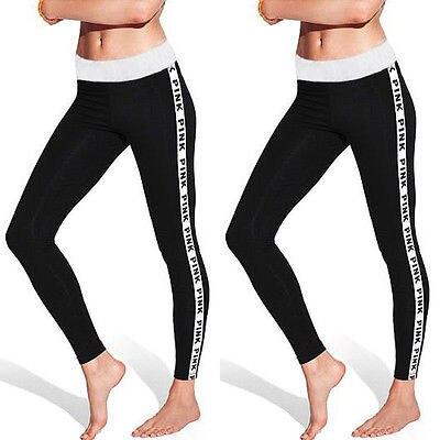 Women Cotton Leggings Hipster Fitness Leggings Grey Pink Letter Printed Leggins Brand Fashion Ladies Work Out Legging Pants