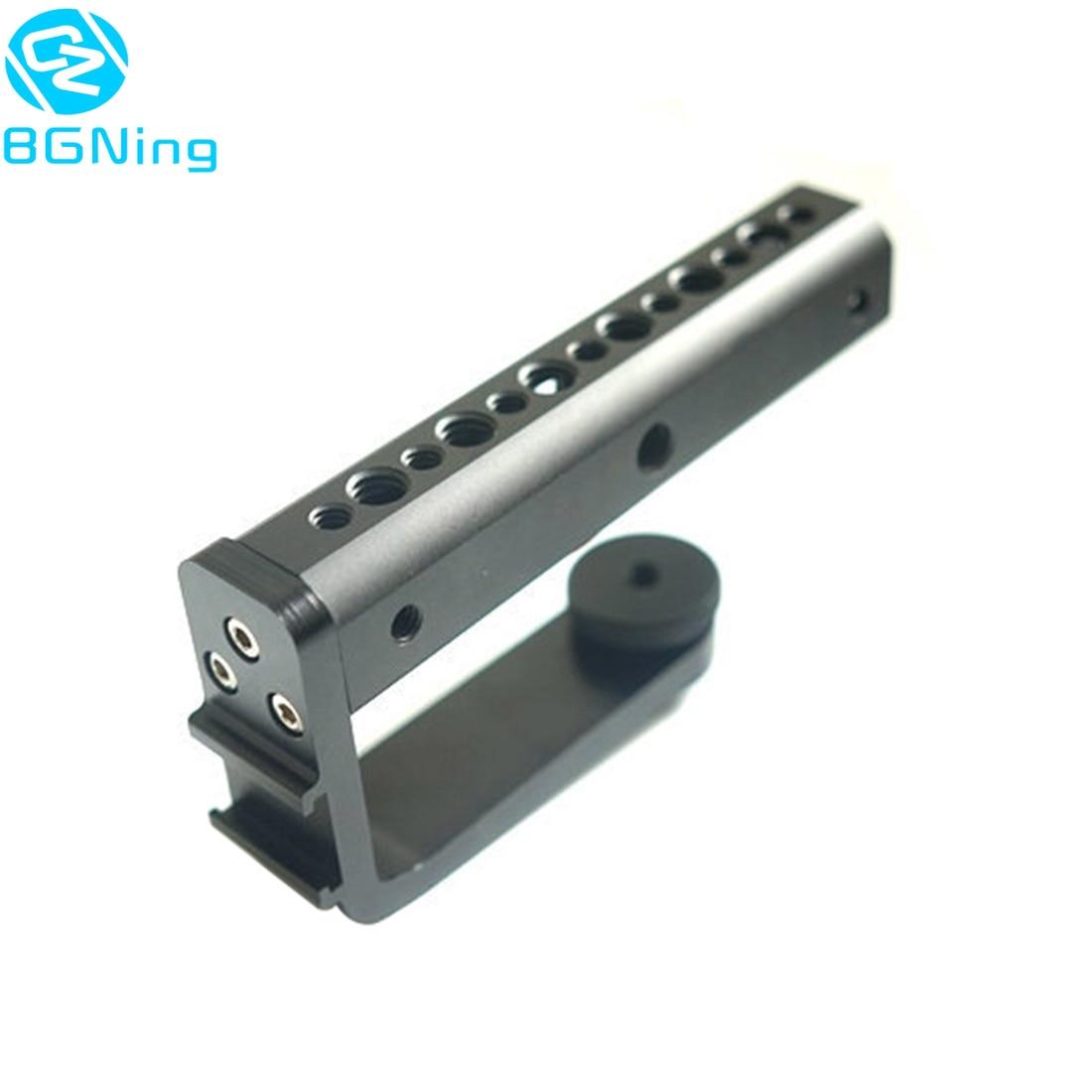 Nouvelle poignée en alliage daluminium poignées support de tige dextension pour DJI Ronin S pour Zhiyun grue 2 stabilisateur cardan pour caméra daction