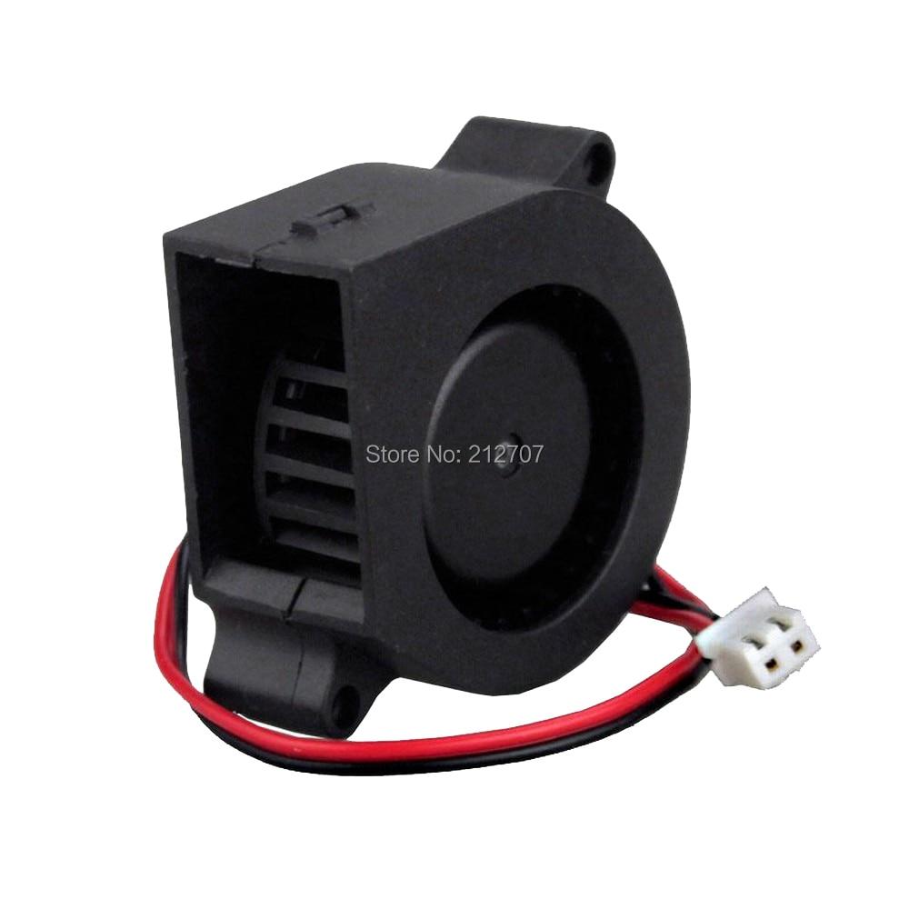 5pcs Gdstime 40mm x 40mm x 20mm 4020s 40mm 12V Brushless DC Cooling Blower Fan