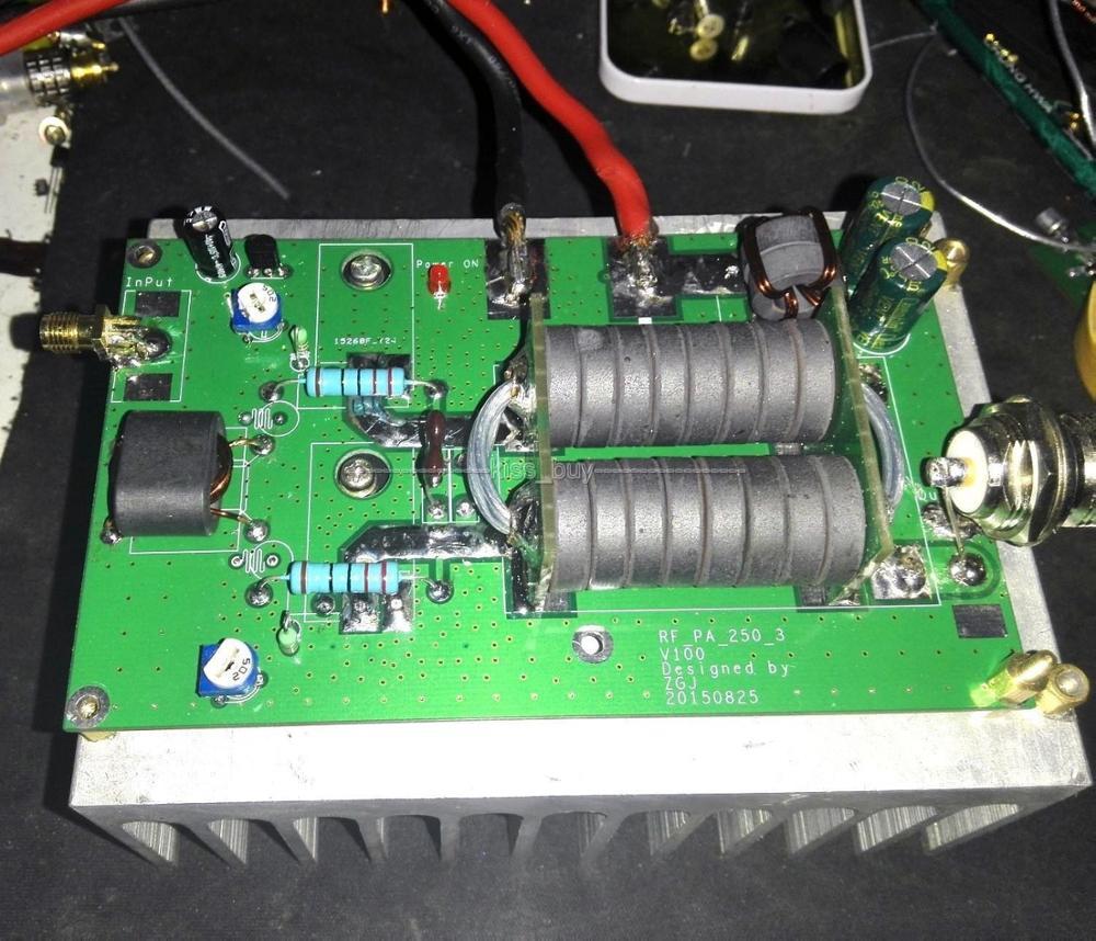 DYKB 180W HF Linear High Frequency RF Power Amplifier Amateur FM Radio Station 3-15MHz diy KITS for SSB CW Transceiver HF