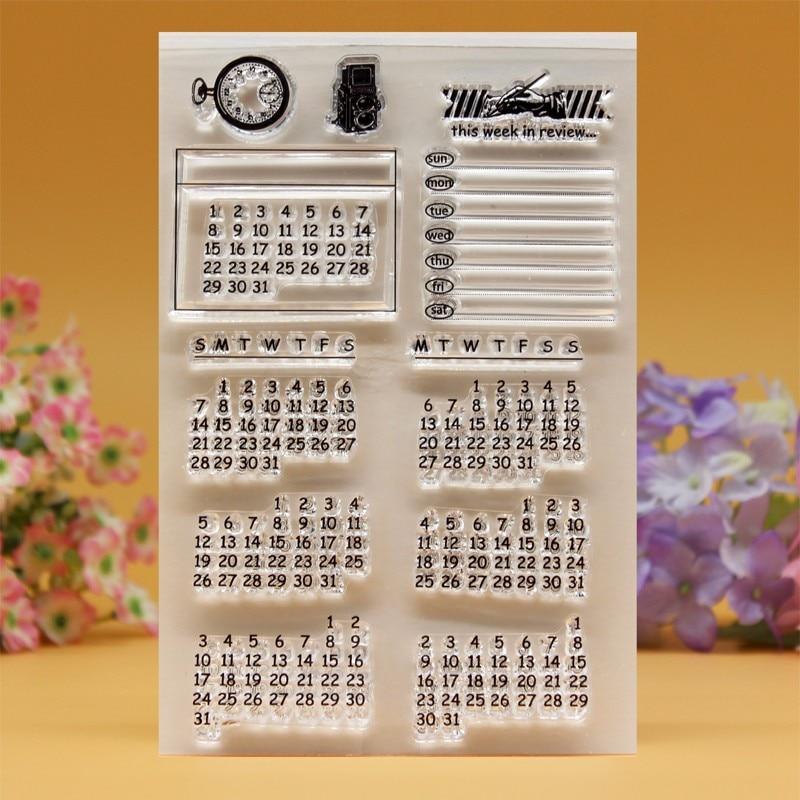YLCS075 силиконовые прозрачные марки для скрапбукинга, карточки-украшения для альбомов, папка для тиснения, термопластичный каучук, штамп 10*15 см