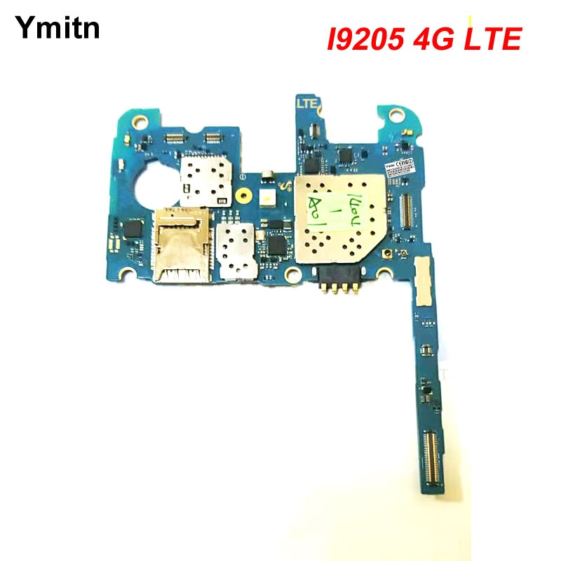 Ymitn desbloqueado funciona bien con Chips Firmware placa base para Samsung Galaxy Mega 6,3 i9205 4G LTE placa base placa lógica