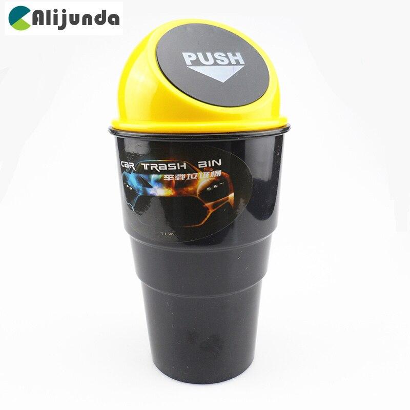 Алихунда автомобильный мусорный бак мусорная Пыль для Skoda Octavia Fabia Rapid Superb Yeti Roomster