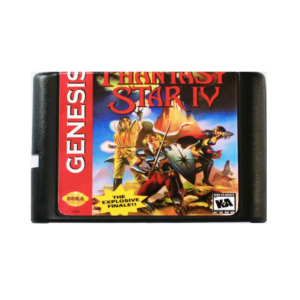 Phantasy Star 4 16 poco tarjeta de juego MD para Sega Mega...