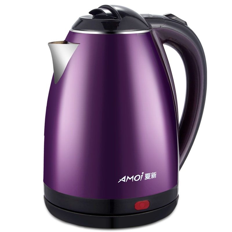 Olla de té anticaliente de acero inoxidable BP-150202 Hervidor eléctrico Amoi 304