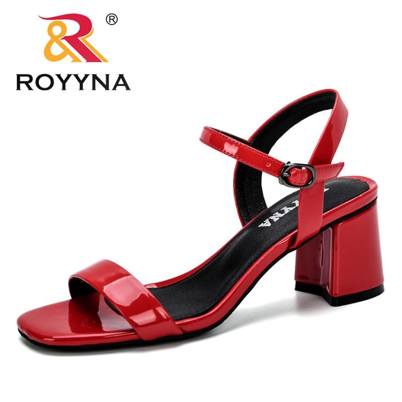ROYYNA-صندل نسائي مريح بمقدمة مفتوحة ، حذاء كاجوال ، موضة ، نعل سميك ، صيف 2019