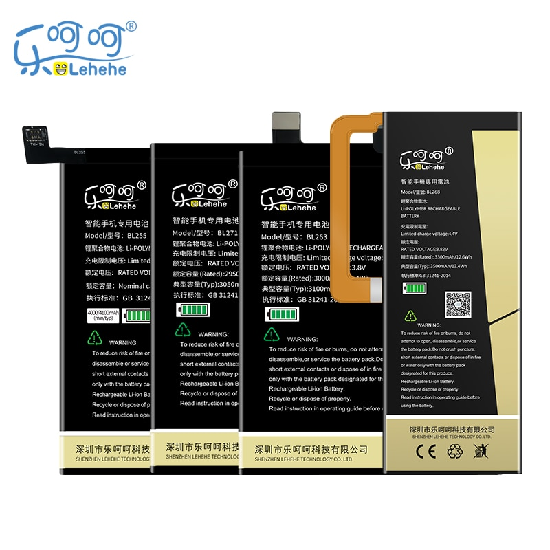 2019 New BL255 BL263 BL271 BL268 Battery for Lenovo ZUK Z1 Z2 Edge Pro High Quality Battery with Tools Gifts for lenovo zuk z2 back battery cover rear door housing 5 0 lenovo zuk z2 battery door case replacement zuk z2 with camera lens