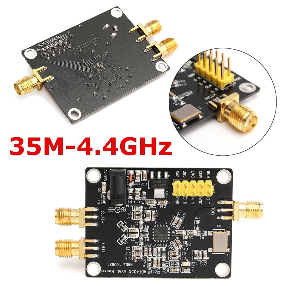 ¡Novedad! 1 unidad de sintetizador de frecuencia de fuente de señal RF PLL de 35 M-4,4 GHz, placa de desarrollo ADF4351