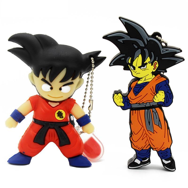 BiNFUL pen drive 4 ГБ 8 ГБ мультяшный Dragon Ball Goku Monkey king16гб usb флеш-накопитель
