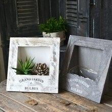 Cadre Photo Succulent plante verte   Plantes dintérieur en Pot, Pot de fleurs charnu, cadre Photo, décorations florales créatives de bureau