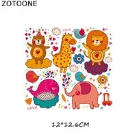 patches iron on transfer patch for clothing cute cartoon animal set beaded applique t shirt clothes decoration diy kids gift e