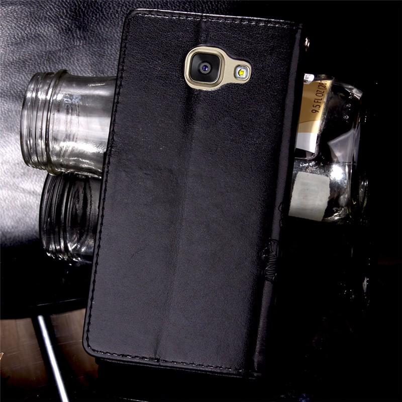 Dla iphone 7 plus 4S 5S 4 5 6 s skórzane etui z klapką case do samsung galaxy a3 a5 j3 j5 2016 j1 s6 s7 s3 s4 s5 mini grand prime pokrywa 49