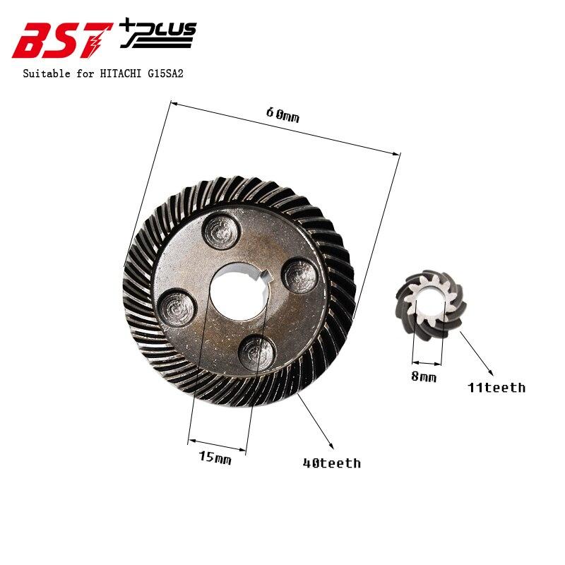 Engranaje para molinillo angular HITACHI G15SA2, herramientas repuestos eléctricos