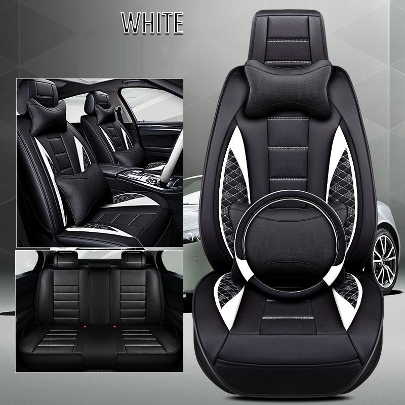 Cubierta de asiento de coche de cuero para infiniti ex25 ex35 ex37 fx fx35 fx37 g25 g35 jx35 qx80 de 2018, 2017, 2016, 2015