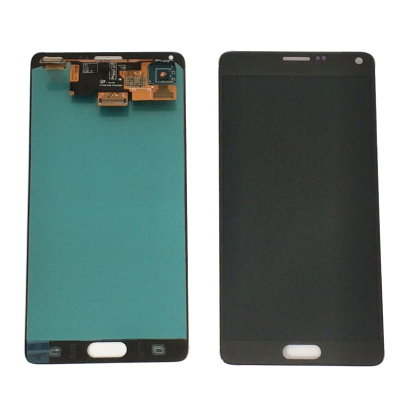 100% Original Test Burn Shadow LCD para Samsung Galaxy Note 4 N910T N910A N910I LCD pantalla táctil digitalizador montaje