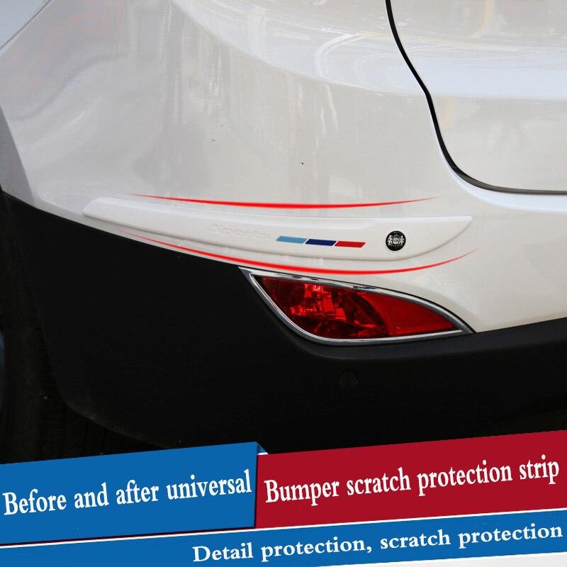 Tiras decorativas protectoras de parachoques de coche, tiras anticolisión, diseño de coche para infiniti fx35 q50 g35 g37 qx70 qx50 fx fx37 m35