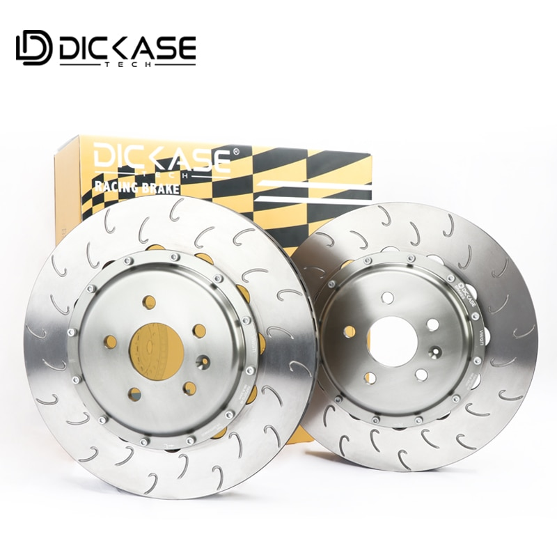 DICASE Rotores de freno 355*32mm disco de freno para GT6 6pot sistema de freno de pinza de carreras para ruedas 18rim
