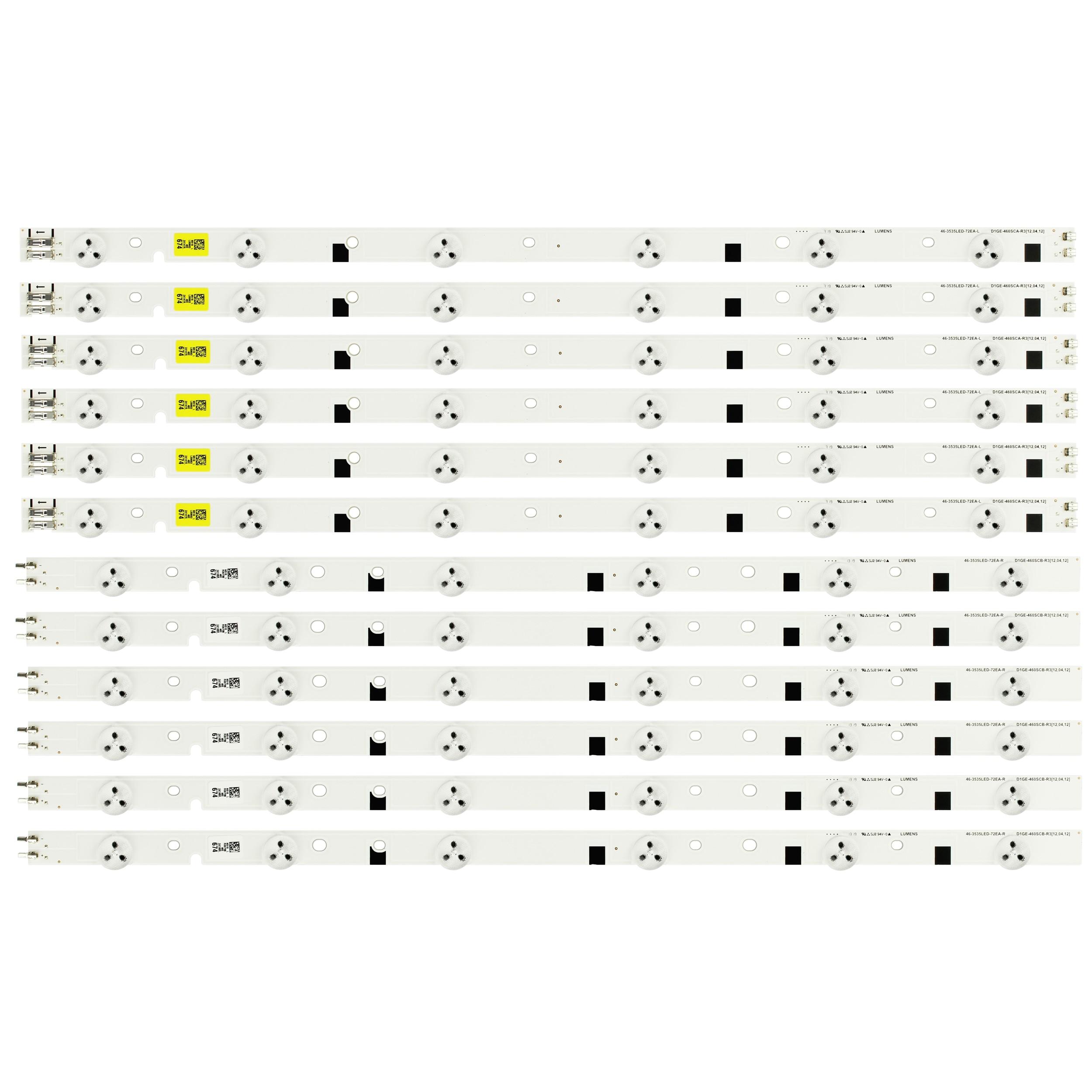 46-3535LED-72EA-L ، D1GE-460SCA-R3 ، 24147A LED قطاع ل سامسونج UE46EH5000K
