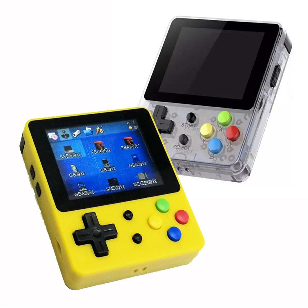 2.6 インチ液晶画面ミニハンドヘルドレトロゲームコンソール GBA GBC GB FC NEOGEO CPS PS1 アタリノスタルジックなレトロ子供のゲームのビデオゲーム