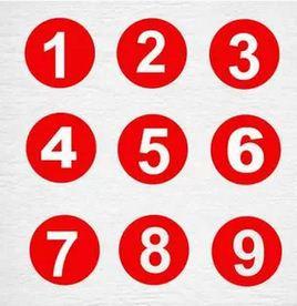 Números 1234567890 etiqueta vinilo pared pegatinas PVC decoración extraíble DIY Mesa arte papel tapiz habitación casa
