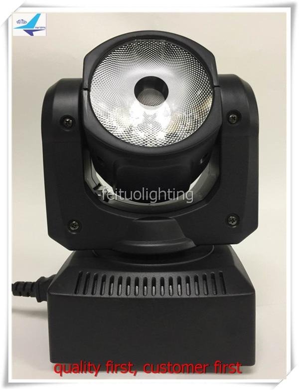 A-4 lote mini luces led de discoteca dmx rgbw 60 w led cabeza móvil lyre haz de luz de escenario